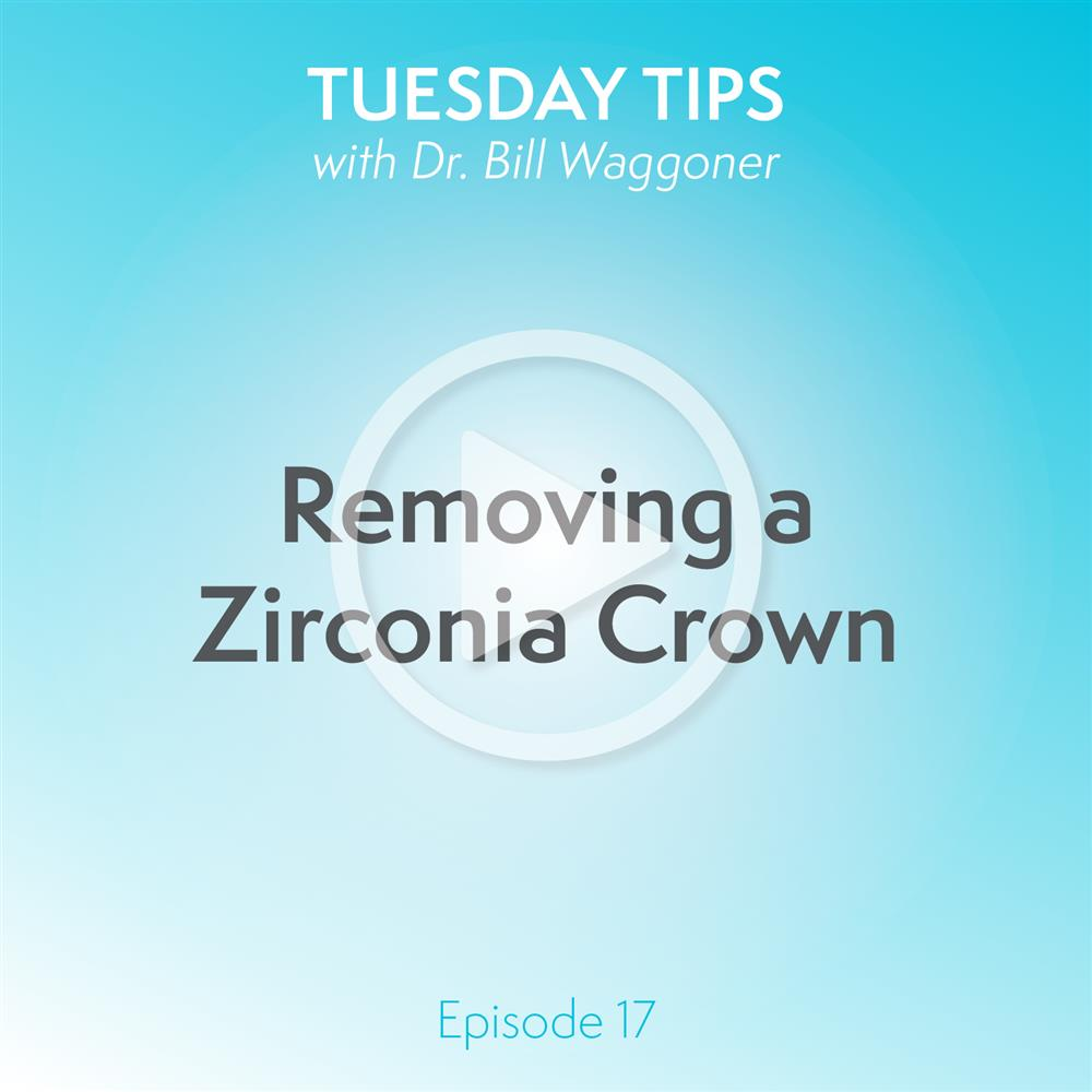 Removing a Zirconia Crown