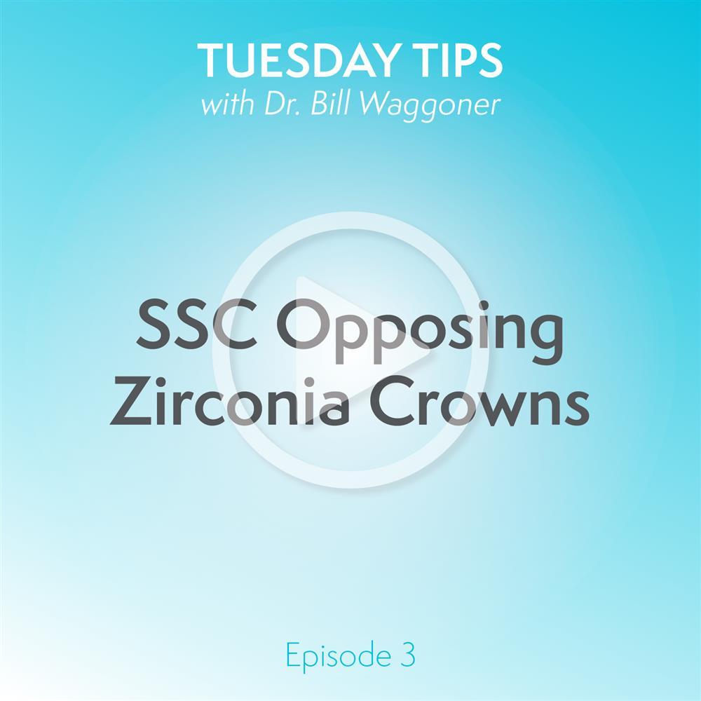 SSC Opposing Zirconia Crowns