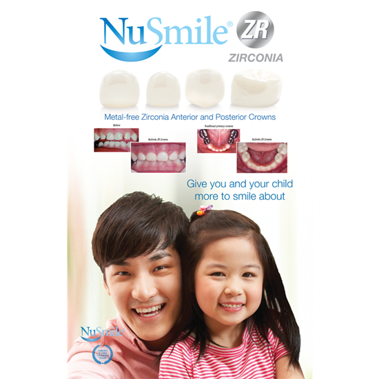 Picture of NuSmile ZR English Table Top Display (Asian)