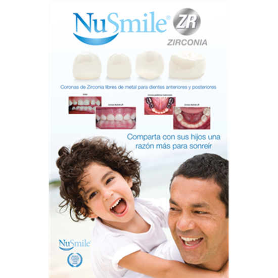 Picture of NuSmile ZR Spanish Table Top Display