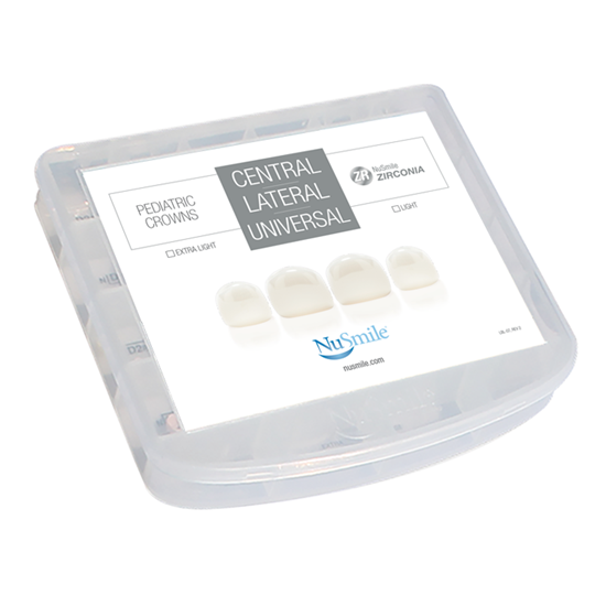 Picture of NuSmile ZR Zirconia Central / Lateral / Universal Incisor Professional Kit