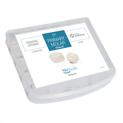 Picture of NuSmile ZR Zirconia 1st Primary Molar Regular Evaluation Kit