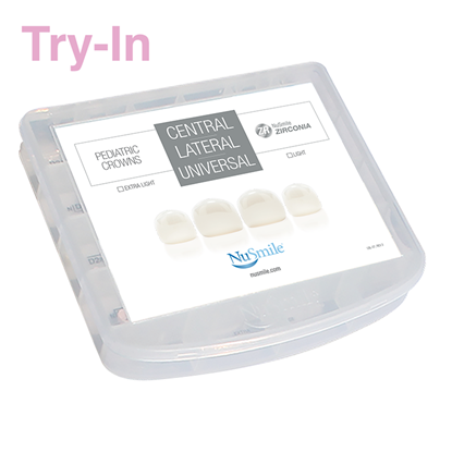 Picture of NuSmile ZR Try-In Central / Lateral / Universal Incisor Kit