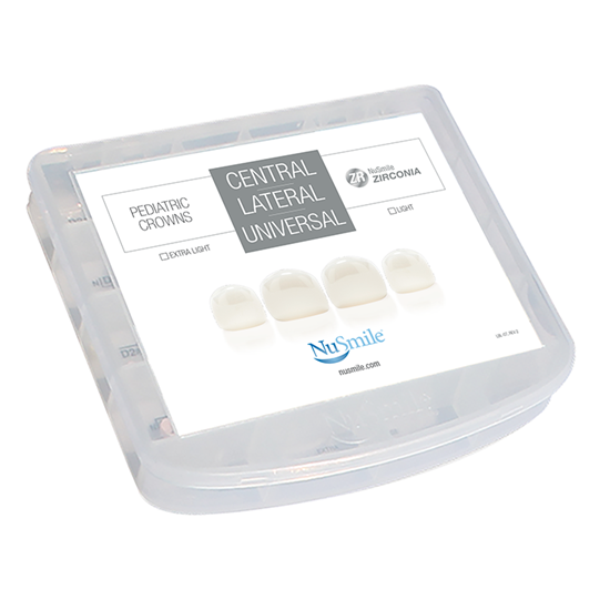 Picture of NuSmile ZR Zirconia Central / Lateral Starter Kit