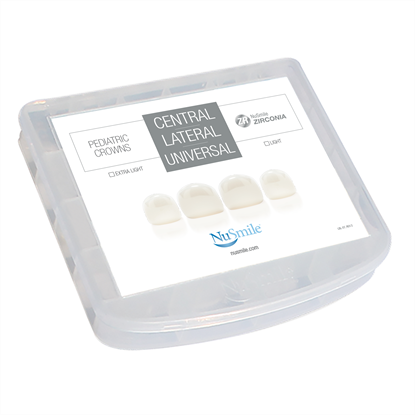 Picture of NuSmile ZR Zirconia Central / Lateral / Universal Incisor Crown Storage Box