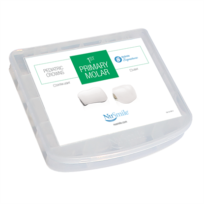 Picture of NuSmile Signature Pre-veneered Posterior 1st Primary Molar Storage Box