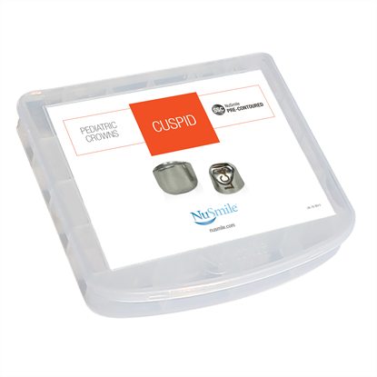 Picture of NuSmile SSC Pre-contoured Cuspid Crown Storage Box
