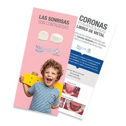 Picture of NuSmile ZR Crown Spanish  Brochures for Parents, Pack of 50